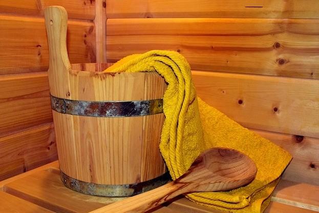 Sauna sorgt für Entspannung