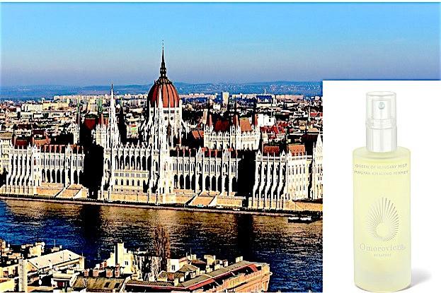 Budapest ist die Heimat des Queen of Hungary Mist