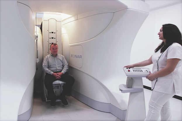 Platzangst unnötig: Upright-MRT