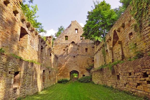 Klosterruine auf dem Disibodenberg