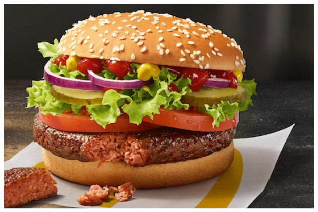 Big Vegan TS ist der erste vegane Burger bei McDonald's Deutschland