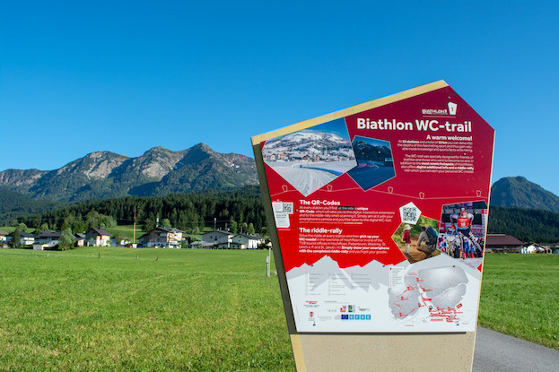 Biathlon-Weg im Pillerseetal