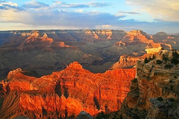 Teil des Grand Canyon