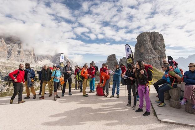 Legendär: Der Delicious Climbing Dolomiti wird in an den 5 Torri ausgetragen.