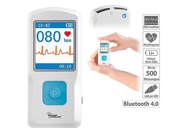 Mobiles 1-Kanal-EKG-Messgerät