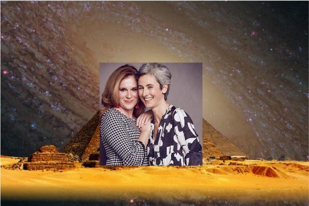 Die beiden Gründerinnen der Kosmetikmarke Kleopatras Töchter