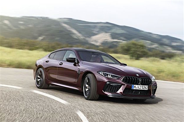 BMW M8 Competition Gran Coupé