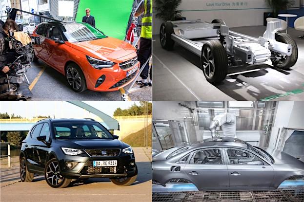 Opel Corsa-e, Aiways Fahrzeugplattform, Seat auf Rekordkurs und ein Anstrich für zwei Farben bei Audi
