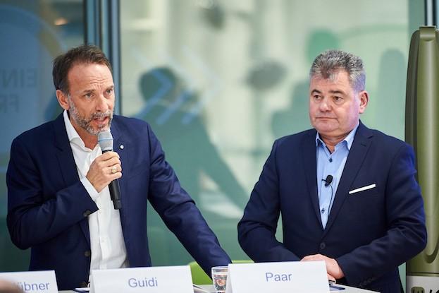 Dr. Fabrizio Guid und Prof. Dr. D. Paar