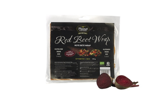 Rote-Bete-Wrap