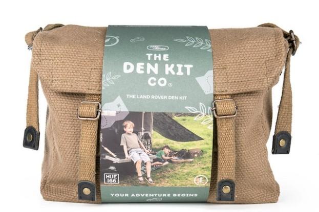 Die limitierte Auflage des Land Rover Den Kit ist ein aktuelles Kooperationsprojekt für alle Kinder