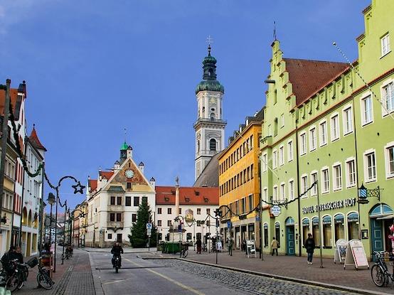 Die alte Domstadt Freising