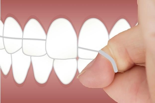 Zahnzwischenräume kann man auch mit pflanzlicher Zahnseide reinigen