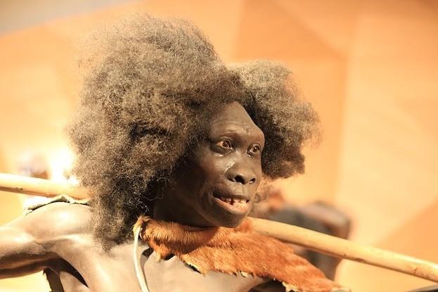 Steinzeitlicher Neandertaler