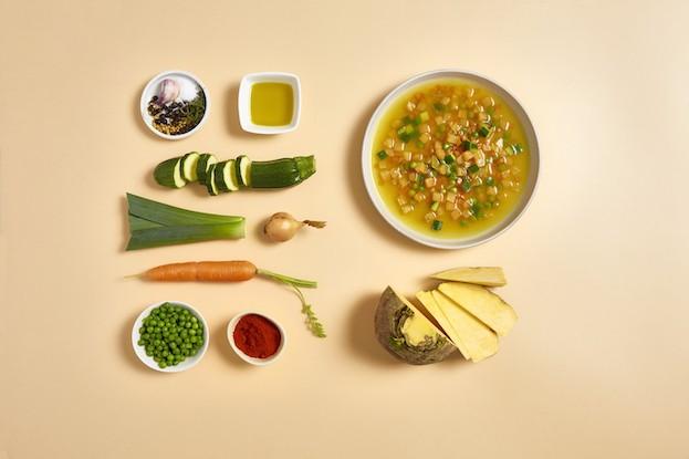 Steckrüben-Gemüsepfanne