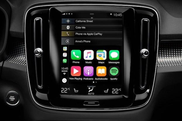 Volvo Infotainment und Sprachsteuerung