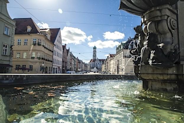 Augsburg und Wasser gehören seit jeher zusammen