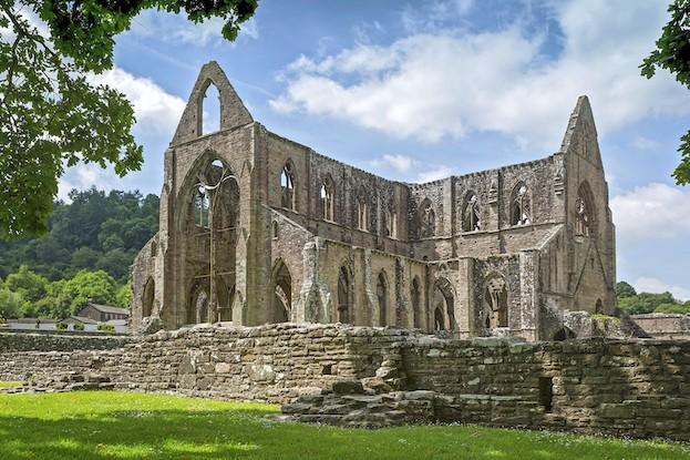 Tintern Abbey im Wye Valley, Südwales