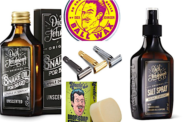 Snack Oil, Wax, Rasierer, Seife, SalzSpray