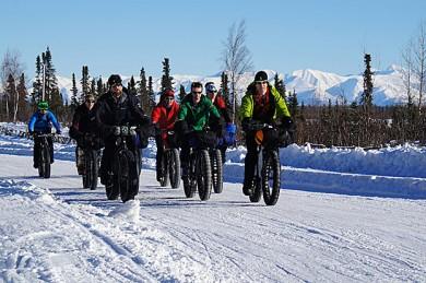 Fatbiken rund um Anchorage