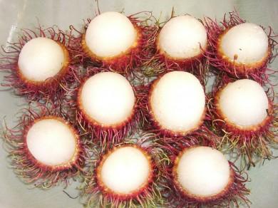 Litschi-Früchte