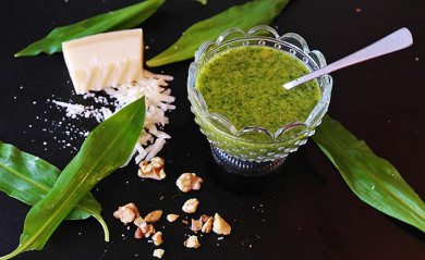 Bärlauch-Pesto - ©RitaE / Pixabay