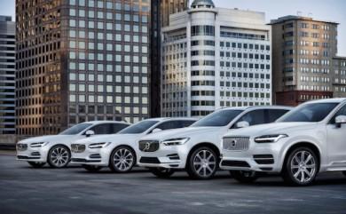 Volvo T8 Twin Engine Flotte