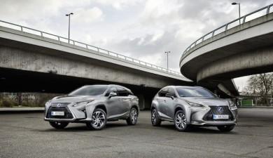 Premium-SUV Modelle Lexus NX und RX