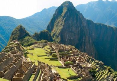 UNESCO-Weltkulturerbestätte Machu Picchu