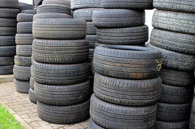 Reifenlagerung: So vielleicht lieber nicht!