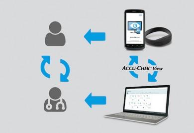 Accu-Chek View: Digitaler Begleiter für einen gesunden Lebensstil