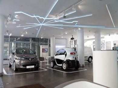 Concept Store für Elektrofahrzeuge in Berlin