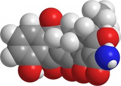 Antibiotikum-Moleküle