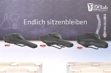 SQlab Komfortsättel - Ergolux. - ©SQlab
