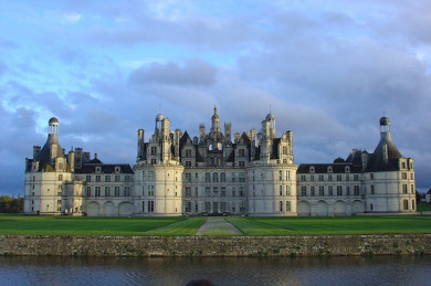 Schloss Chambord im Loire-Tal