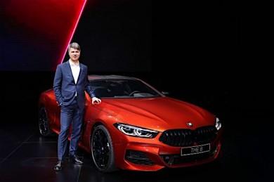 Luxus Line-up bei der Weltpremiere der neuen BMW 7er Reihe am 16.01.2019 in Shanghai/China.