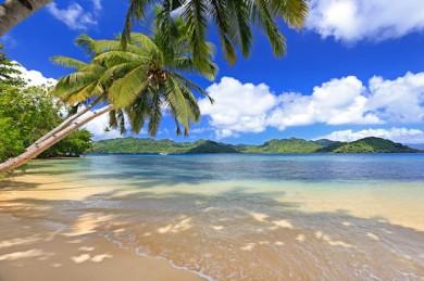 Traumstrand auf Fidschi