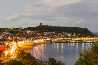 Scarborough at night - Yorkshire