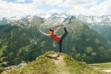 Yoga-Frühling Gastein - Gastein Tourismus/©GTG/Marktl Photography