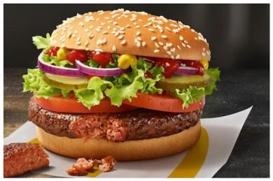 Big Vegan TS ist der erste vegane Burger bei McDonald's Deutschland  - ©McDonald's Deutschland