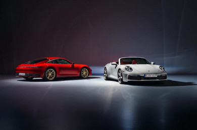 911 Carrera Coupé und 911 Carrera Cabriolet - ©Porsche AG