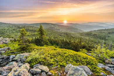 Sonnenaufgang am Lusen - ©Pixabay