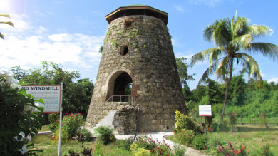 Windmühle von Hogg Island - ©Guyana Tourism Authority