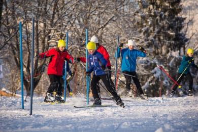 Im Fun & Snow Park trainieren Kinder und Jugendliche ihre Geschicklichkeit - ©Saalfelden Leogang Touristik Fotograf: Foto Bauer