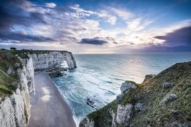 Alabasterküste in der Normandie - ©Pixabay