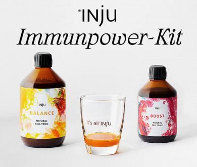 Volle Power dank INJU BOOST & BALANCE - ©INJU GmbH