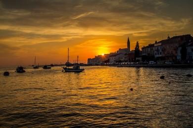 Das Küstenstädtchen Rovinj in Istrien - ©Pixabay
