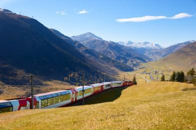 Glacier Express bei Andermatt - ©Glacier Express AG, Fotograf StefanSchlumpf