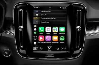 Volvo Infotainment und Sprachsteuerung - ©Volvo
