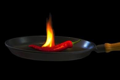 Feurig scharf: Chili - ©Pixabay